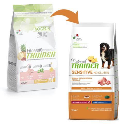 Sensitive Dog Adult Medium & Maxi mit Schwein