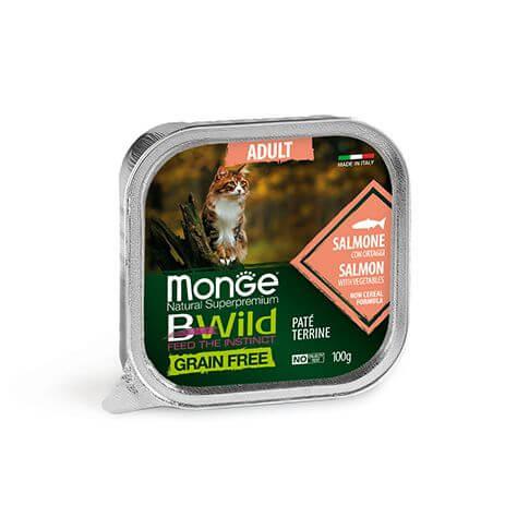 Monge Cat Bwild GF Adult Salmon