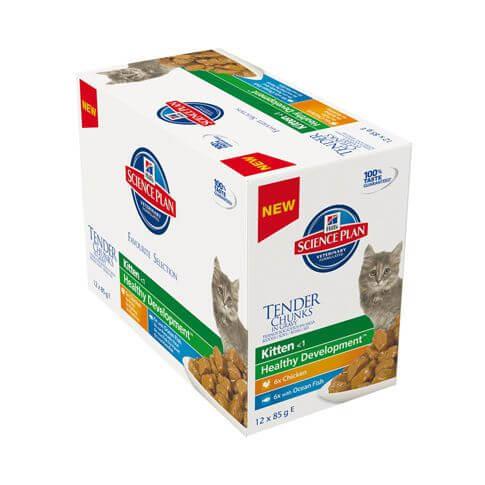 Feline Kitten Mixed Multipack Huhn & Seefisch - Beutel