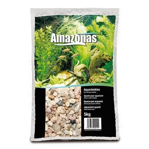 Amazonas Aquarienkies hellbraun 2-3mm