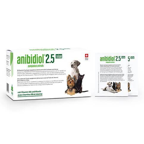 anibidiol 2.5 für Hunde und Katzen
