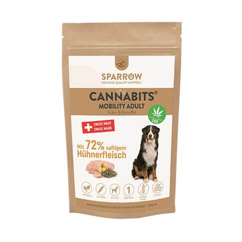 PetCBD CannaBits Adult Mobility mit Huhn