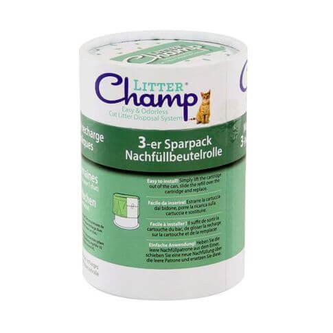Sparpaket Nachfüllrolle Litter Champ