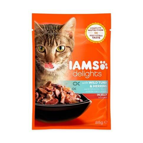 IAMS Adult Delights Tunfisch & Hering