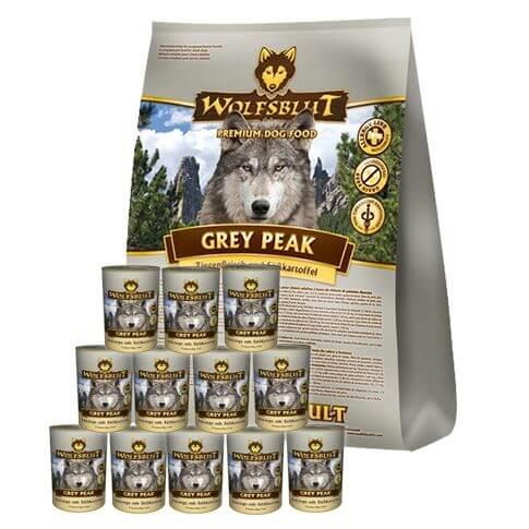 Vorteils-Kombisparpaket Grey Peak Ziege & Süsskartoffel