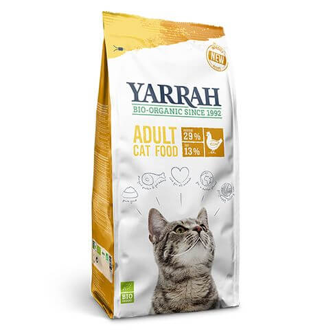Yarrah Adult Huhn Cat Food