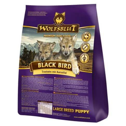 Wolfsblut Black Bird Large Breed Puppy Truthahn & Kartoffel