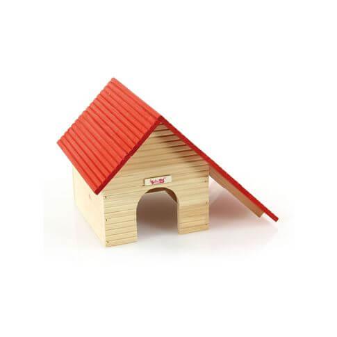 Hamsterhaus mit Satteldach