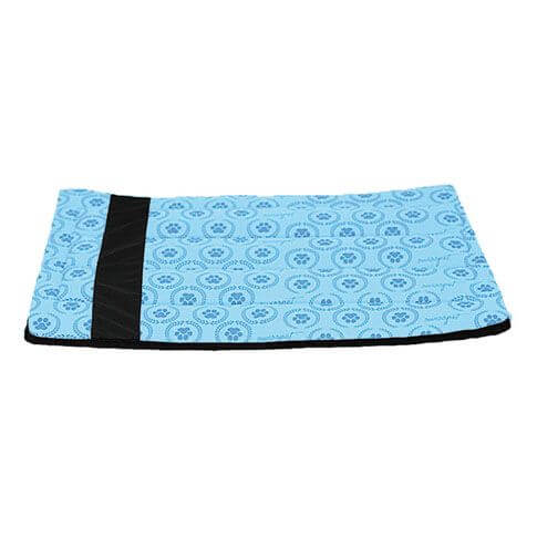 Hundedecke / Katzendecke Pawi, blau