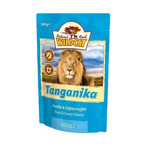 Wildcat Tanganika Forelle & Süsskartoffel - Beutel