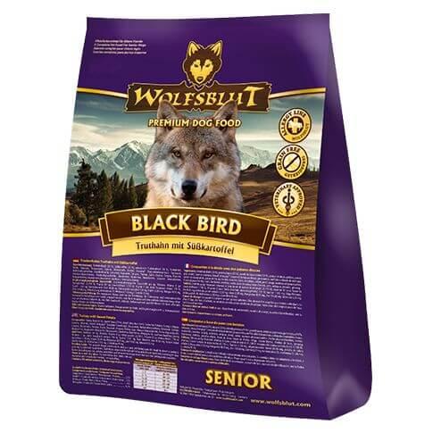 Wolfsblut Black Bird Senior Truthahn und Süsskartoffeln