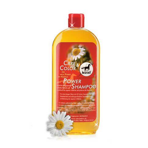 Leovet Power Shampoo für helle Pferde