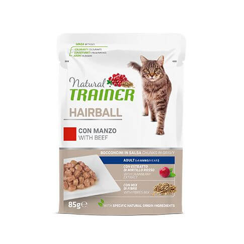 Specialities Cat Hairball Control mit Rind