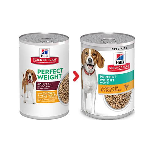 Hill's Canine Adult Perfect Weight - Dosen