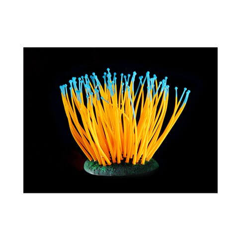 Kunststoffpflanze Fluo Sea-Anemone