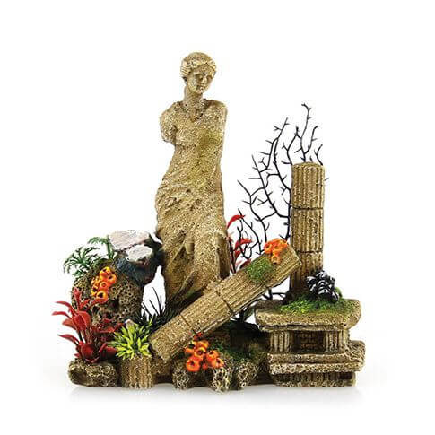 Aquarium-Deko Venus Statue