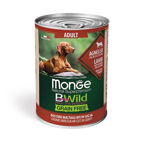 Monge Dog BWild Wet Adult Lamb