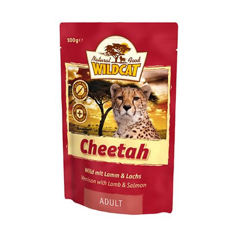 Wildcat Cheetah Wildfleisch & Lachs - Beutel