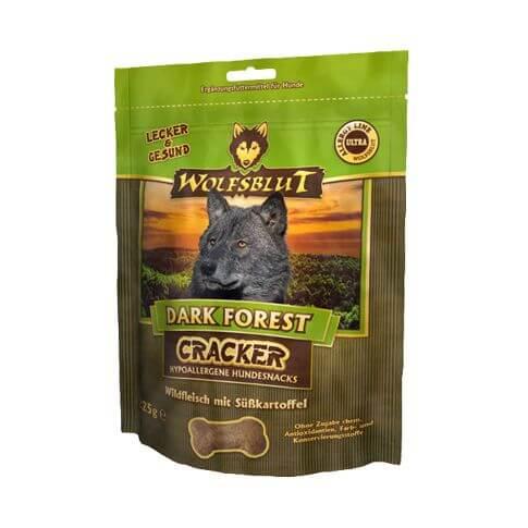 Wolfsblut Dark Forest Cracker mit Wild & Süsskartoffel