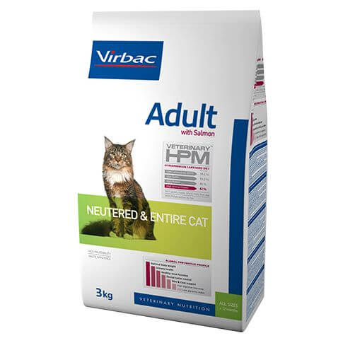 HPM Adult Cat Salmon Neutered & Entire