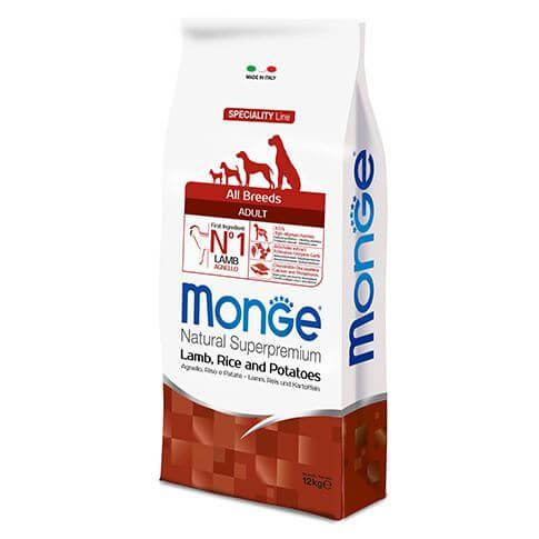 Monge Dog Adult All Breeds Lamb