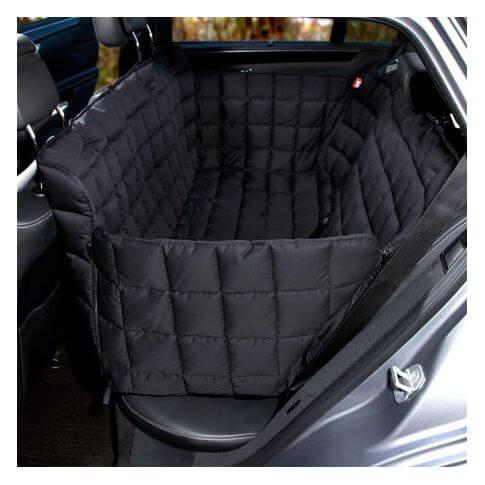 Doctor Bark 3-Sitz Autoschondecke schwarz