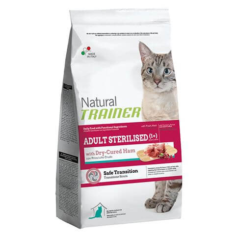 Trainer Natural Adult Sterilised with Dry Cured Ham