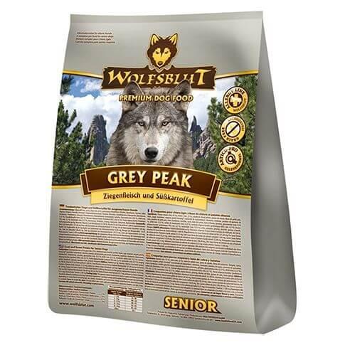 Wolfsblut Grey Peak Senior Ziege & Süsskartoffel