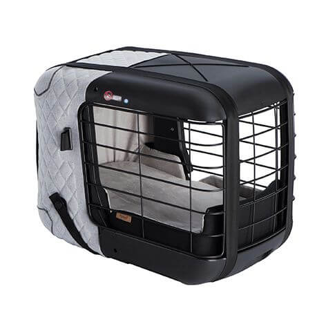Hundebox 4pets Caree Cool Grey