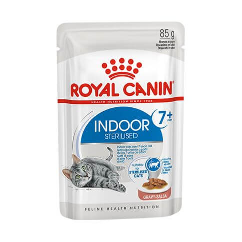Royal Canin Indoor Sauce 7+