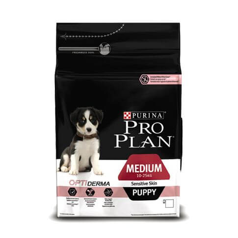 Pro Plan Medium Puppy Sensitive Skin Lachs