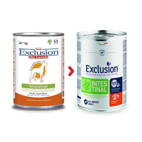 Exclusion Diet Intestinal Medium Large mit Schwein & Reis