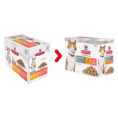 Sterilised Cat Young Adult Huhn & Lachs