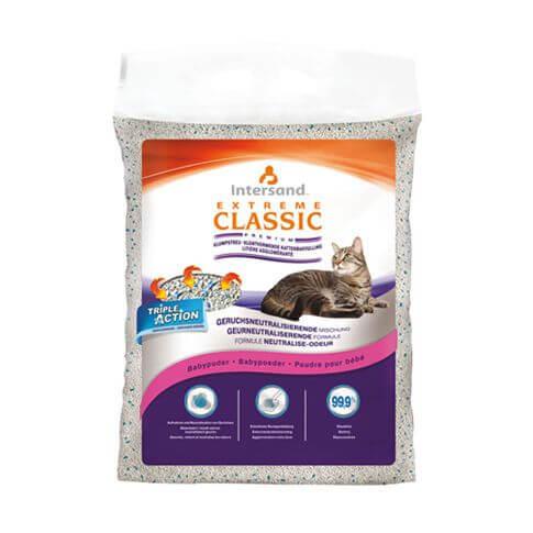 Katzenstreu Extreme Classic Baby Powder