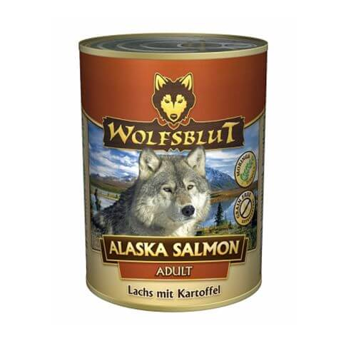 Wolfsblut Alaska Salmon mit Lachs und Kartoffeln