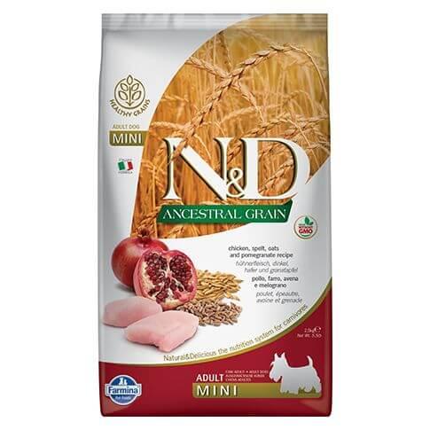 Farmina Ancestral Grain Puppy Mini Huhn & Granatapfel