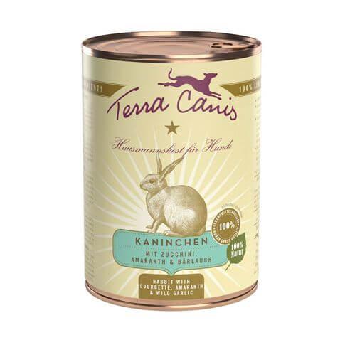 Terra Canis Classic mit Kaninchen, Zucchini, Amaranth & Bärlauch