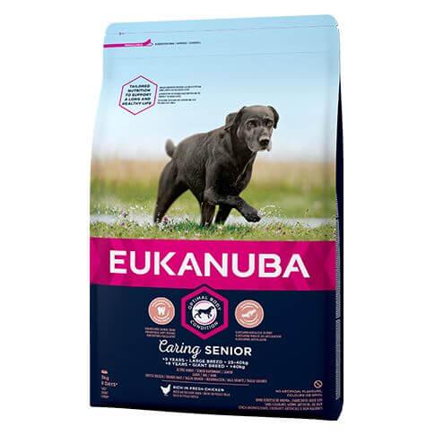 Eukanuba Caring Senior Large mit Huhn