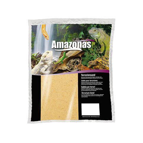 Amazonas Terrariensand trocken gelb