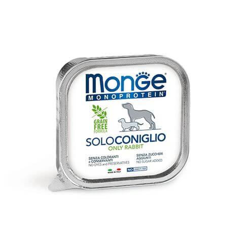 Monge Dog Monoprotein Paté Rabbit - Schalen