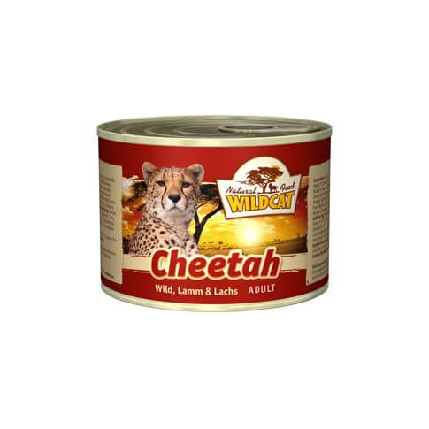 WILDCAT Cheetah Wildfleisch & Lachs