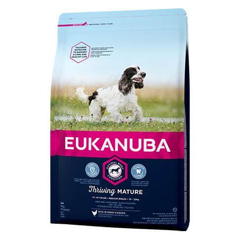 Eukanuba Thriving Mature Medium mit Huhn
