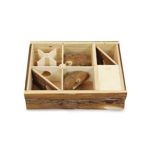 Nagerspielbox mit 6 Kammern