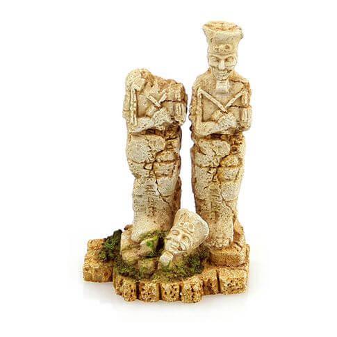 Aquarium-Deko Ägyptische Statue
