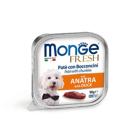 Monge Dog FRESH Paté Duck