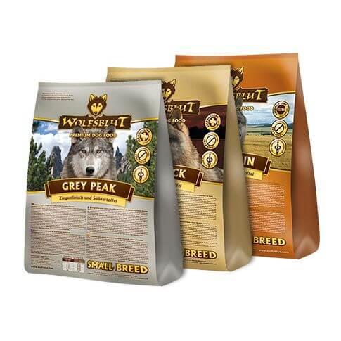 Vorteils-Probierpaket SMALL BREED mit Pferd, Ziege & Ente
