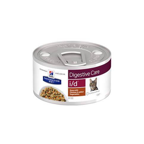 Hill's Feline i/d Magen-Darm-Erkrankung Ragout Huhn