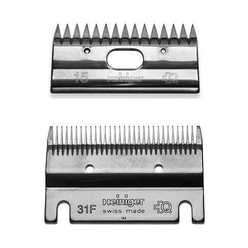 Schermesser Set 31F/15 fein