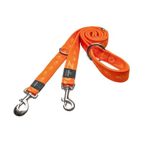 Rogz Hundeleine Alpinist orange