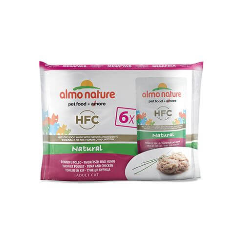 Almo Nature HFC Natural Multipack Thunfisch & Huhn